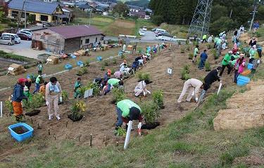 No.51 川内村いのちの森づくり植樹