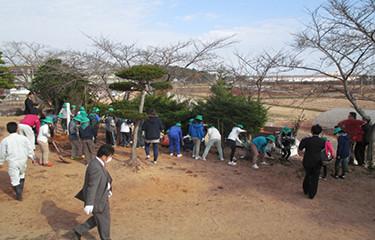 No.77 大野小学校の教育環境向上等のための植樹