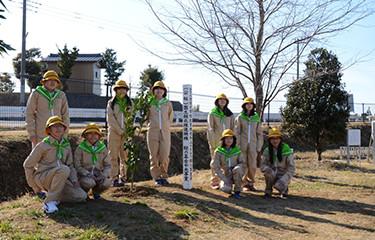 No.84 牛込小学校の植樹活動