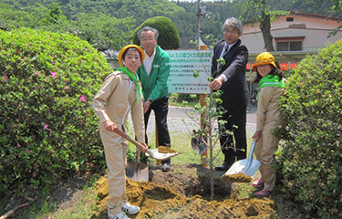 No.95 登米市立横山小学校の記念植樹