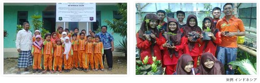 世界各国の森林作り※例 インドネシア