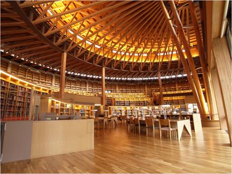 国際教養大学 中嶋記念図書館(秋田市)